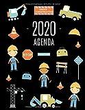 Trabajador de Carreteras Agenda 2020: Planificador Diaria | Ideal Para la Escuela, el Estudio y la Oficina | Enero a Diciembre 2020 (Spanish Edition)