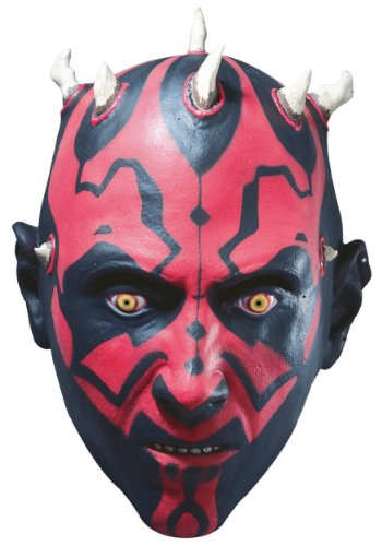 3/4 Star Wars Darth Maul Adult mask (disfraz)
