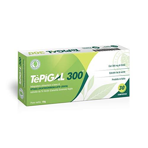 EGCG (epigallocatechina) Purissima ≥95% | 100% Naturale da Tè Verde | Dosaggio ottimale 300mg | Aumento Metabolismo, Blocca Fame, Dimagrante, Energizzante, Riduzione Stress | Scientificamente Provato