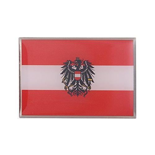 GuDeKe Pin de Bandera de Austria con el Broche de Águila Escudo