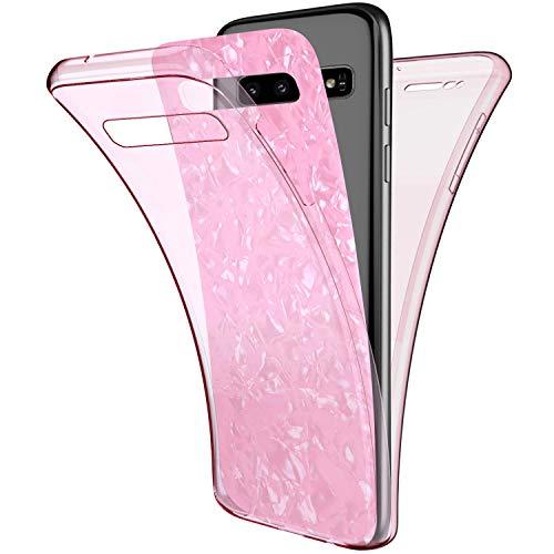 Uposao Kompatibel mit Samsung Galaxy S10e Hülle 360° Full Body Cover Rundum Handyhülle...