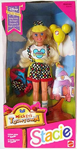 Barbie STACIE Mickey's Toontown Doll - Disney Exclusive (1993)