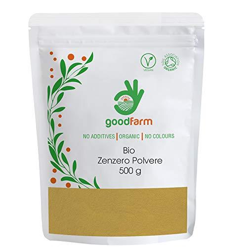 GoodFarm, Polvere di zenzero biologico, 500 g
