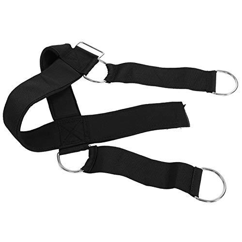 Boaby Fitness Head Training Nylon Head Levantamiento de Pesas Arnés Correa para el Cuello Fuerza Ejercicio Cinturón Gimnasio Cinturón