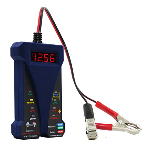 Buy Bargain MOTOPOWER MP0514B 12V Digital Battery Tester Voltmeter and Charging System Analyzer with...