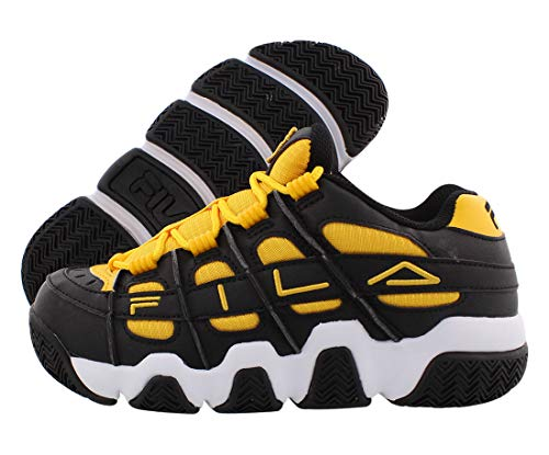 Fila Uproot Womens Shoes Size 7.5, Color: Black/Yellow/White