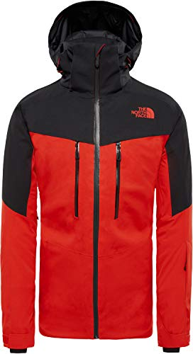 THE NORTH FACE Chakal Jacke Herren Fiery red/TNF Black Größe S 2019 Funktionsjacke