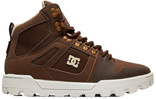 DC Shoes Pure High-Top WR Boot, Botas para Nieve para Hombre, marrón, 42.5 EU