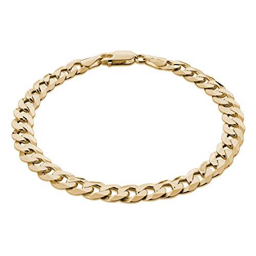 STERLL Herren Armband Silber Gold Beschichtet Geschenkverpackung Geschenke für Männer