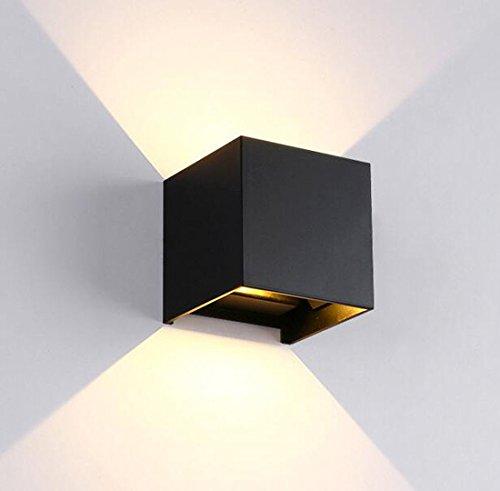 YU-K De ladder van de wanden trap hal licht outdoor wandlamp waterdichte buiten-wandlampen 10 * 10 cm LED