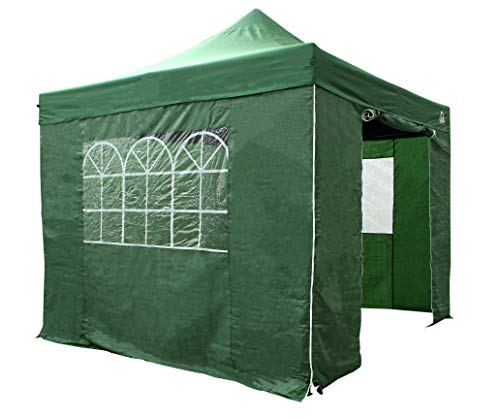 All Seasons Gazebos 3M x 3M Waterproof Gazebo Party Tent with Rustproof Frame (Dark Green)