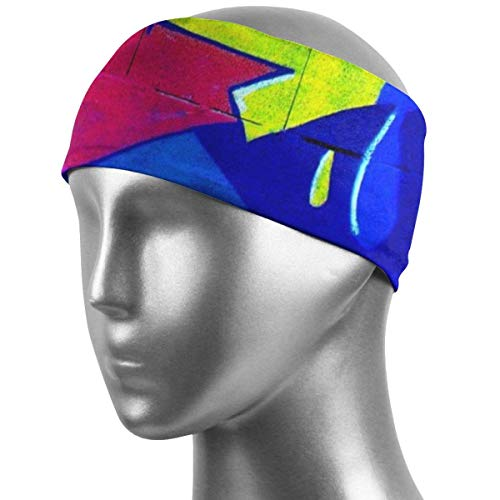 CHISHANG Banda para el cabello unisex Banda para el sudor deportiva go Banda para la cabeza deportiva para correr, andar en bicicleta y hacer ejercicio