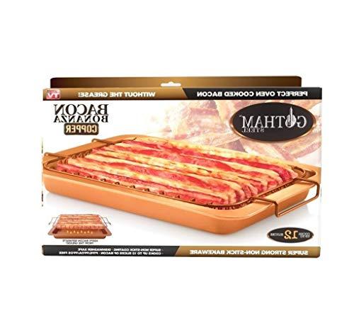 OKSLO As seen on tv bacon bonanza cooker, 2 piece set