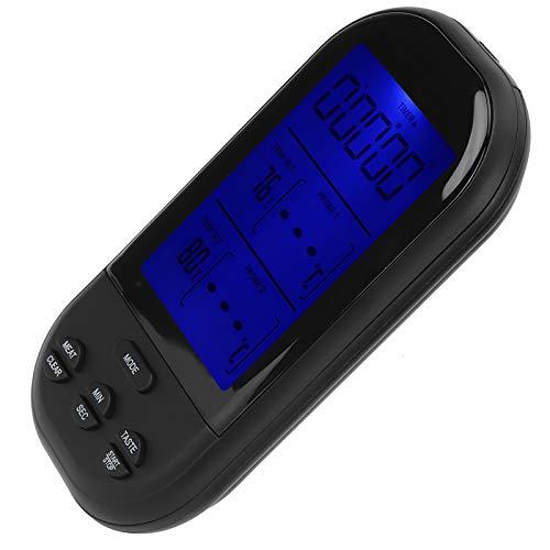 Termómetro para alimentos, termómetro, termómetro remoto para carne de pollo(TS-K32-S gray (two-way pin))