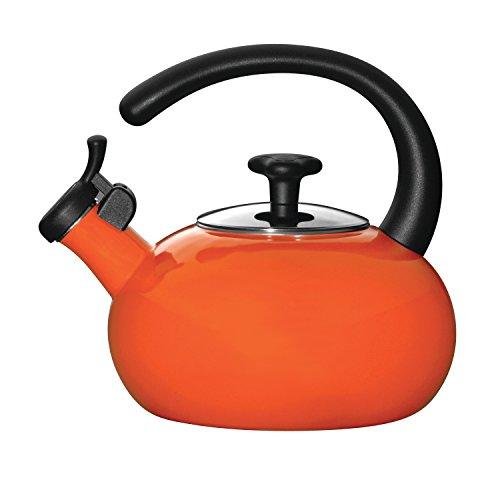 Rachael Ray Teakettles 1.5-Quart Teakettle, Orange