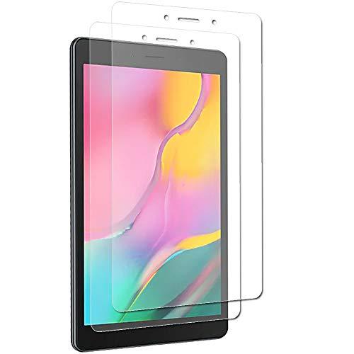 Techgear [Confezione da 2 pellicole protettive antiriflesso compatibili per Samsung Galaxy Tab A 8.0 2019 da 8  (SM-T290 SM-T295), opache proteggi schermo
