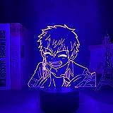 Luz De Ilusión 3D Luz De Noche Led Hanako Kun- Decoración De Dormitorio De Anime Lámpara De Mesa De Dormitorio De Regalo De Cumpleaños Para Niños