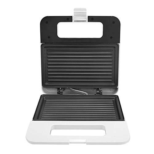 Frühstück Sandwich Maker, Haushalt Toaster Umweltfreundliche Materialien Non-Stick Tabletts Auf Beiden Seiten Vollautomatische Frühstück Maschine
