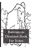 Camptosaurus Dinosaur Note Book: The perfect notebook for dinosaur lovers.