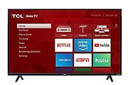 cheap TCL 43S325 43 inch 1080p smart LED TV ROKU (2019)