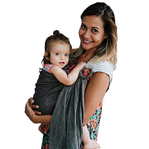 Nalakai Ring Sling Baby Carrier - Luxury Bamboo and Linen...