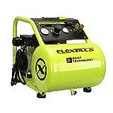 Flexzilla Portable Air Compressor with Quiet Technology, 1 HP, 5 Gallon, Industrial Grade Pump