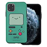 Compatible with iPhone 11 Pro Max Case (6.5inch) Adventure Time Layered Hybrid [TPU + PC] Bumper Cover - Beemo (BMO)