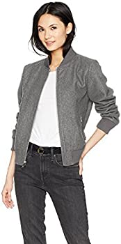 Levi's Women's Wool Blend Rib Knit Bomber Jacket