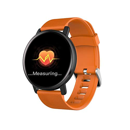 DHTOMC Reloj inteligente 1.3 pantalla de múltiples deportes modo ip67 pulsera impermeable para el desgaste diario-naranja