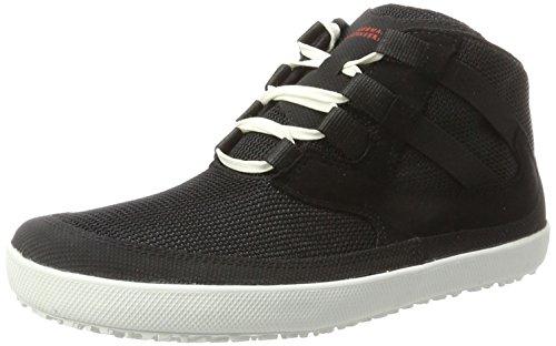 Sole Runner Unisex-Erwachsene Naiad Hohe Sneaker, Schwarz (Black 00), 45 EU