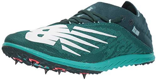 New Balance Women's Cross Country 5K V5 Running Shoe, Tidepool/VERDITE, 7.5 B US