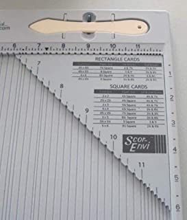 Scor-Pal SP406 Scor-Envi Diagonal and Envelope Template