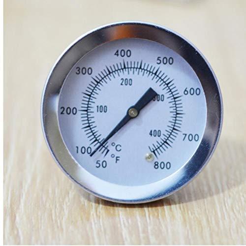 Edelstahl Ofen Doppel-Gage 800 Grad Thermometer BBQ Smoker Pit Bimetallic Quick Response Templehre Bakeware Neue F/C 2
