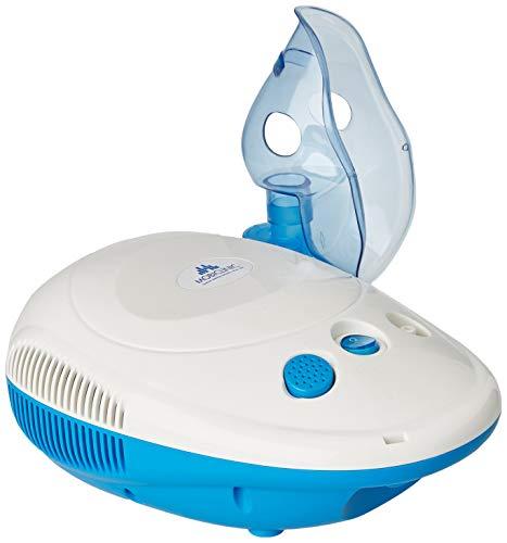 Mobiclinic, Neb-1, Mini Nebulizador portátil, Marca Española, Inhalador de medicamentos para adultos y niños, Inhalador nebulizador para asmáticos y alérgicos, Blanco y azul