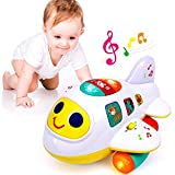 Baby Toys for 1 Years Olds Boys Girls Airplane Music Light-Up Toy Baby Toy 12-18...
