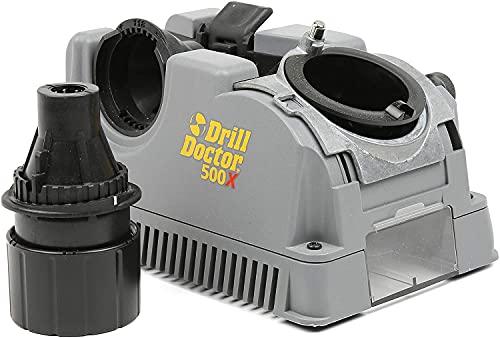 Drill Doctor Bohrerschärfgerät - DD500XI Bohrerschärfgerät Werkzeugmaschine - Weltweit beste Schärfmaschine, schnellste Bohrerschärfer