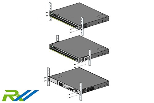 """Cisco Compatible 19"""" Rack Kit for Catalyst 2960-X and 2960-XR Series Switches"""
