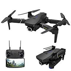 【5G WIFI 4K HD CAMERA】5G WIFI FPV real-time synchronous transmission, no need to worry about any interruption, the range can be 250 meters. The 4K HD camera can clearly capture every detail. 【GPS POSITIONING SYSTEM】GPS positioning gives you the preci...