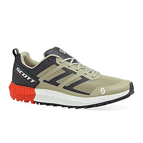 mens trail running shoes SCOTT Sports Kinabalu 2 Mens Trail Running Shoes 12 D(M) US Dust Beige Dark Grey