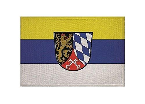 U24 Aufnäher Oberpfalz Fahne Flagge Aufbügler Patch 9 x 6 cm