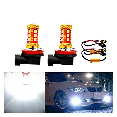 YULUBAIHUO 2X No Hay Error H8 H11 LED Bulbos HB4 9006 Luces de Niebla Conducción 3030SMD Lámpara de Cola Aparcamiento de la luz 1200LM 12V - 24V Auto 6000K White