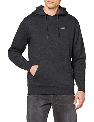 Vans_Apparel Basic Pullover Fleece Capucha, Negro (Black Heather Bhh), X-Small para Hombre