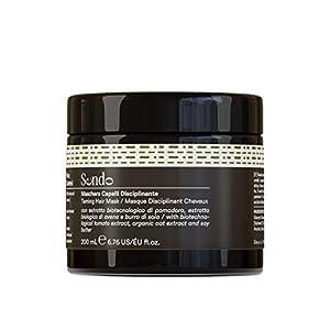 Sendo Mascarilla Anti Frizz Control para el cabello con Extracto Biotecnológico de Tomate, Extracto Biológico de Avena y Manteca de Soja- Controla el Cabello Encrespado - 200 ML -