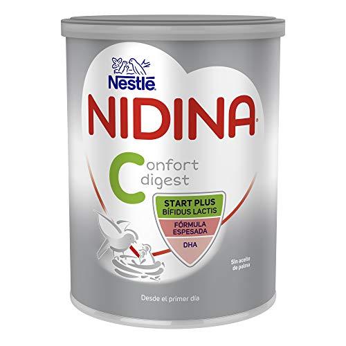 Nestlé NIDINA CONFORT DIGEST 1 - La mejor leche de fórmula para bebés con trastornos digestivos leves