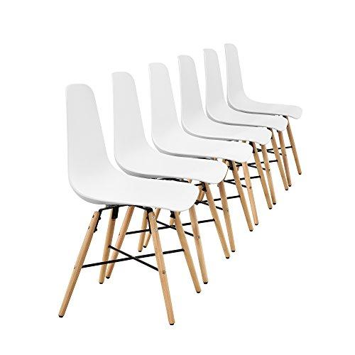 [encasa] Design Esstisch  6 Stühlen Bild 4*