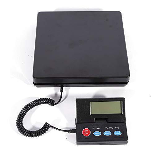 Balanza de paquetes 50 kg/2 G digital de cocina Báscula Digital Báscula de precisión Balanza Báscula electrónica, Carta, Industrial Balanza de recuento (LCD Pantalla Digital)