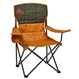 Kelty Essential Camping Chair, Canyon Brown/Belluga – Folding Camp Chair for Festivals and Beach...