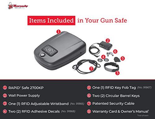 Hornady 98172 RAPiD Safe 2700KP Handgun Security Safe, X-Large
