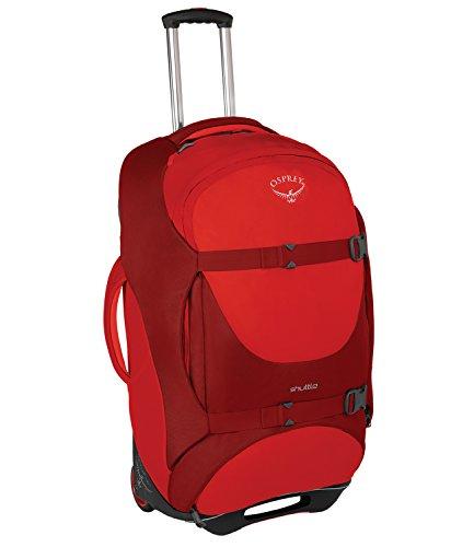 """Osprey Shuttle 30""""/100L Wheeled Luggage, Diablo Red"""