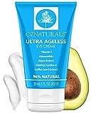 OZ Naturals Crema anti rughe occhi - Trattamento anti invecchiamento per cerchi scuri e gonfiore - L'unica crema idratante per occhi con astaxantina, Matrixyl Synthe'6 e caffeina per occhi senza età